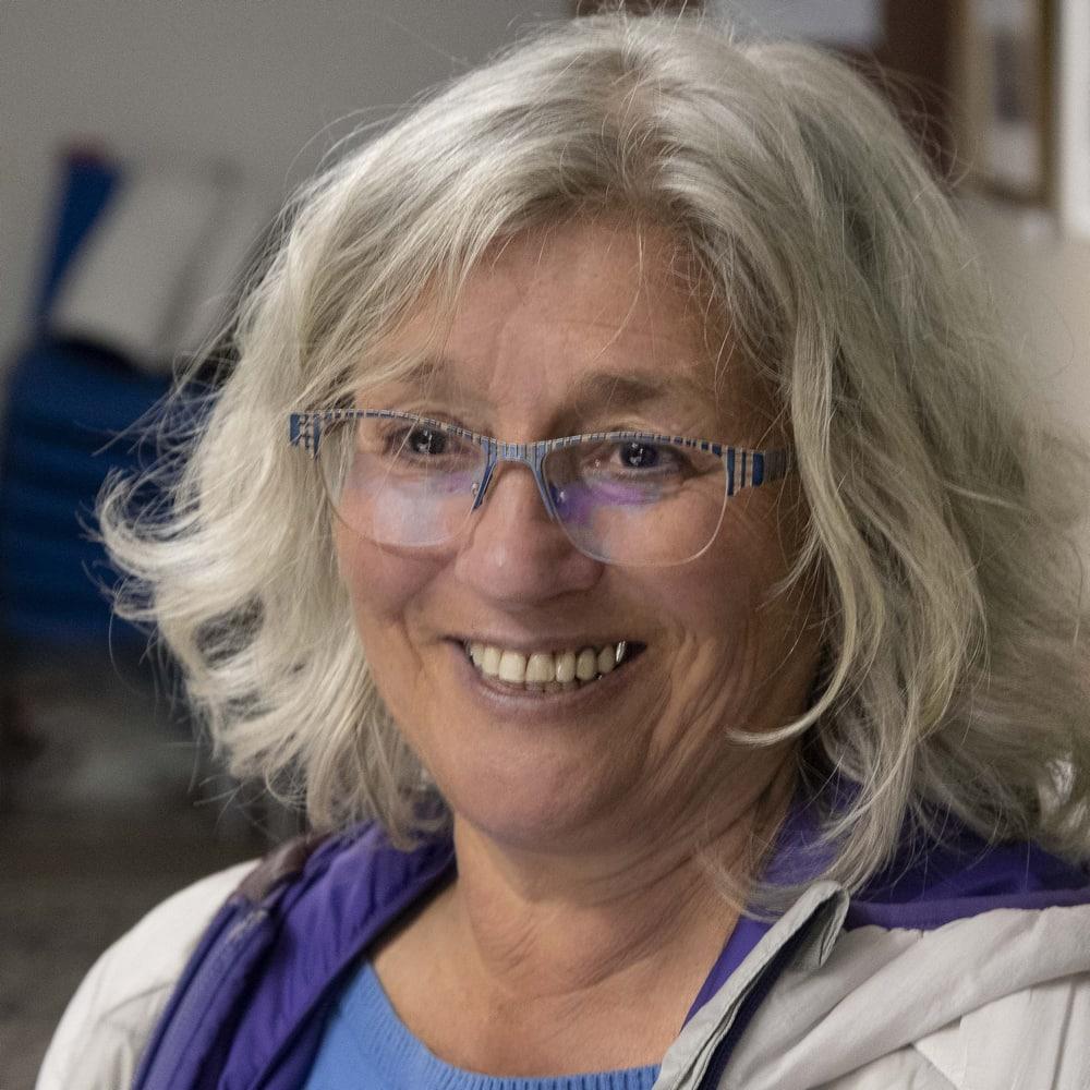 Catherine LARANE Présidente de Nature Patrimoine et Randonnée
