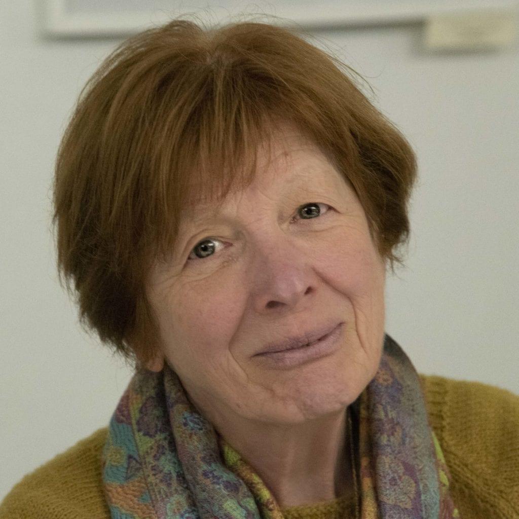 Simone ROLLAND membre du Club Rando de L'Aubo