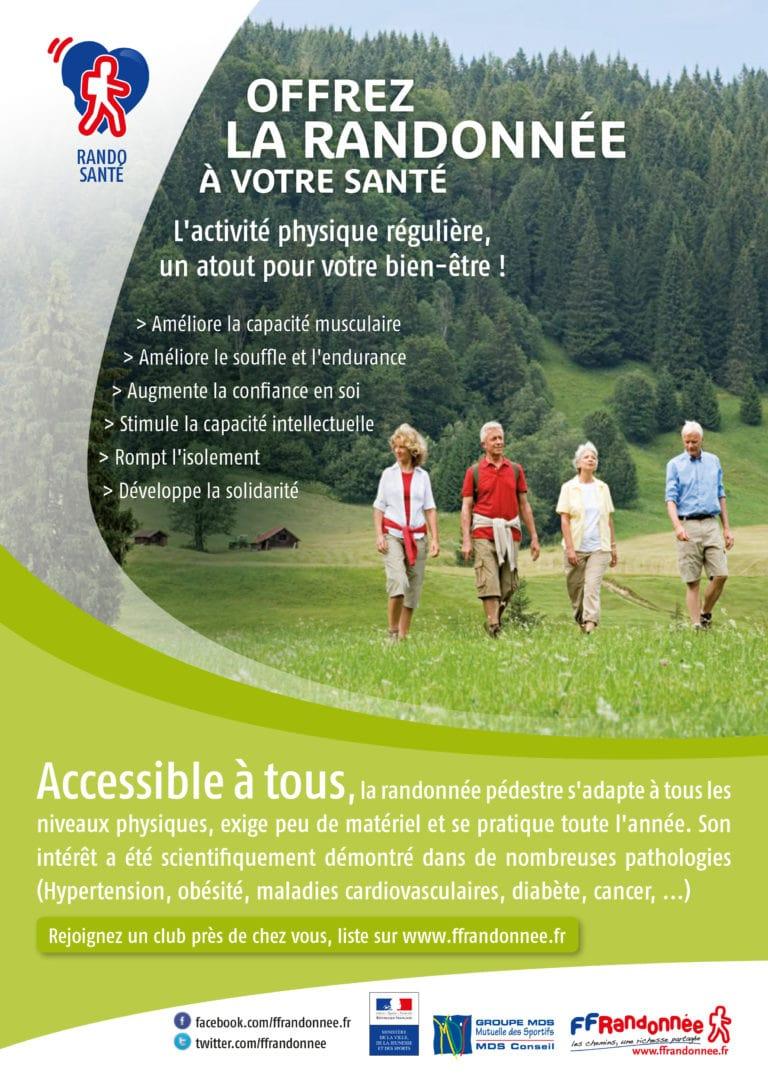 FFRandonnée Affiche rando Santé