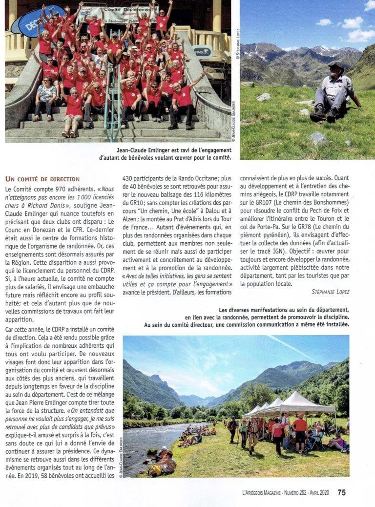 l'Ariégeois Magazine 2020 numéro 252